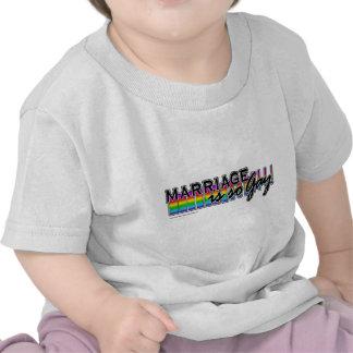 GayMarriageRainbowBar Shirt