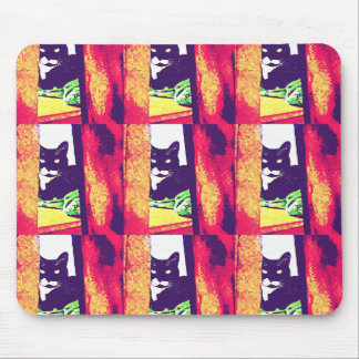 Gazing Lucy Painting Mouse Pad