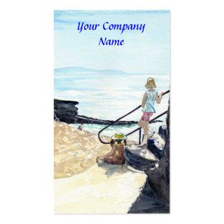 'Gazing' Profile Card Business Card