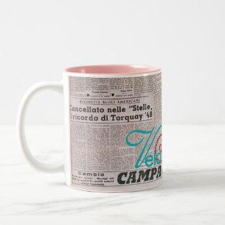 Gazzetta Mug by Velo Atelier