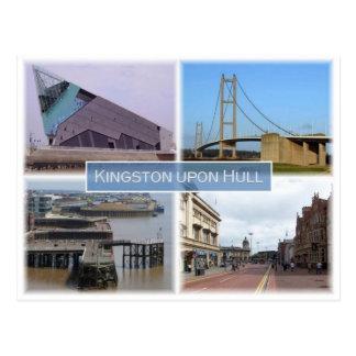 GB United Kingdom -  England - Kingston upon Hull Postcard