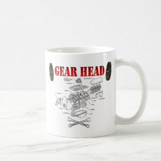 GEAR HEAD COFFEE MUG