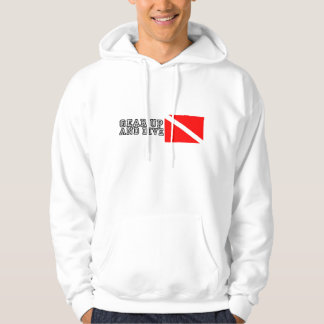Gear Up and Dive Hoodie