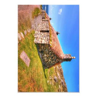 Gearrannan, Isle of Lewis 9 Cm X 13 Cm Invitation Card