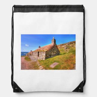 Gearrannan, Isle of Lewis Drawstring Bag