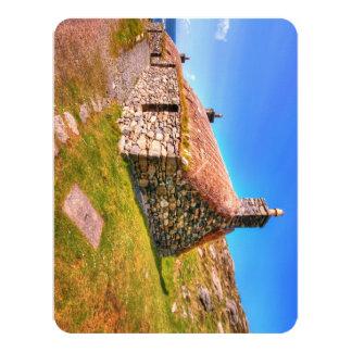 Gearrannan, Isle of Lewis 11 Cm X 14 Cm Invitation Card