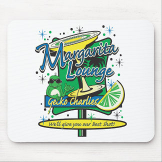 Gecko Charlies Margarita-Cocktail-Lounge Mouse Pad