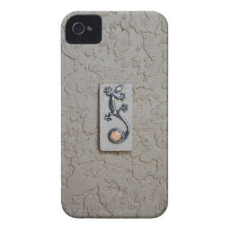 Gecko Lizard Stucco iPhone 4 Case