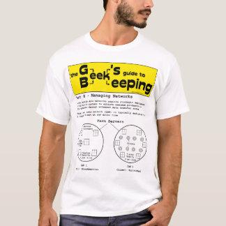 Geek Beekeeping (Networks) - White T-shirt