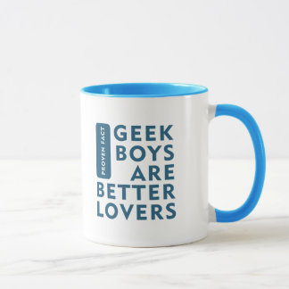 Geek boys are better lovers