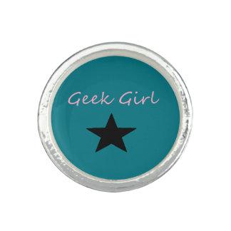 Geek Girl Ring