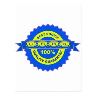 Geek Seal of Approval Postcard