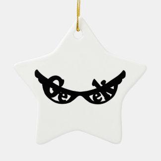 Geek specs christmas ornament