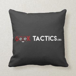Geek Tactics 16x16 Throw Pillow