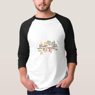 Geek Word Cloud 1 Tee Shirt