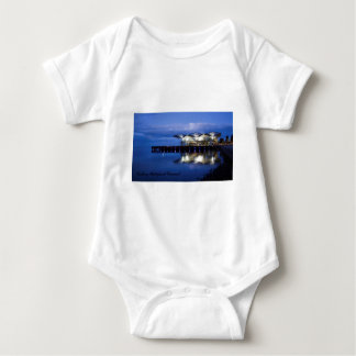 Geelong Waterfront Carousel Baby Bodysuit