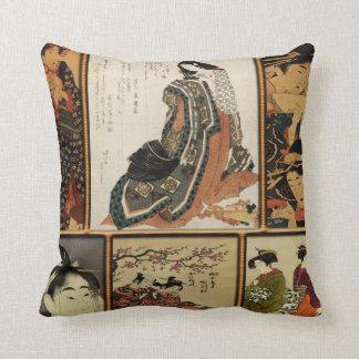 Geisha Collage Cushion