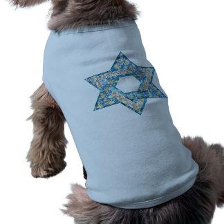 Gem decorated Star of David Shirt