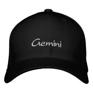 Gemini Embroidered Hat