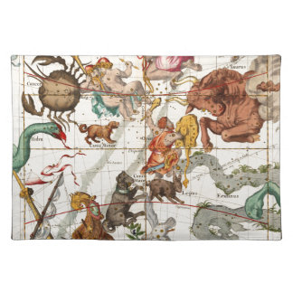 Gemini, Orion, Cancer, Taurus, Canis Major&Minor Placemat