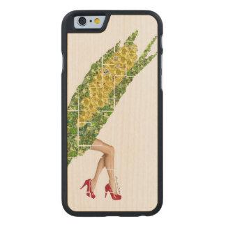 Gems of Corn Carved® Maple iPhone 6 Slim Case