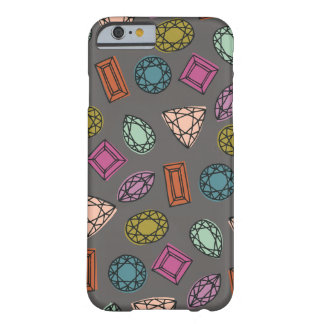 Gems Phone Case - Charcoal Barely There iPhone 6 Case