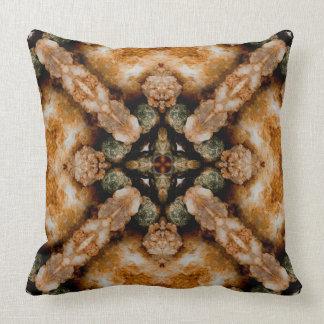 Gemstone I fractal art pillow