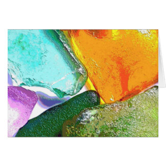 Gemstones Magnified Card