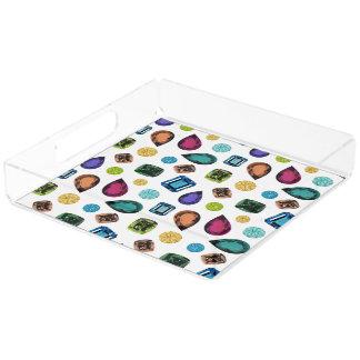 Gemstones Perfume tray