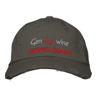 Gen U Wine Redneck Woman Embroidered Baseball Cap