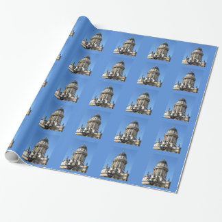 Gendarmenmarkt, French Church (Französischer Dom) Wrapping Paper