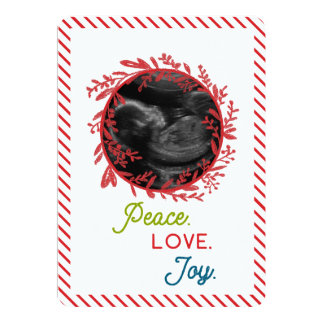 Gender Reveal Another Boy Holiday Card