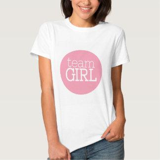 Gender Reveal Baby Shower - Team Pink Girl T-Shirt