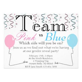 Gender Reveal Invite