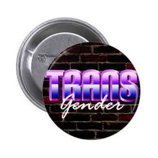 Gender Trans 6 Cm Round Badge