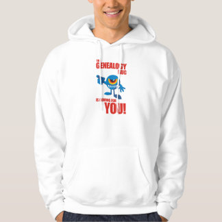 Genealogy Bug Coming For YOU Hoodie