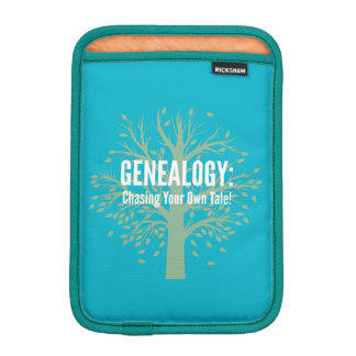 Genealogy iPad Mini Tablet Sleeve