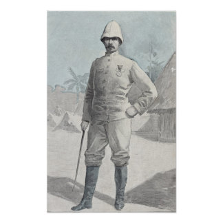 General Alfred Amedee Dodds Poster
