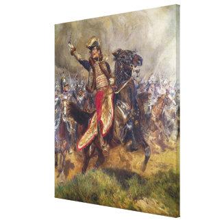 General Antoine-Charles-Louis Lasalle  1912 Canvas Print