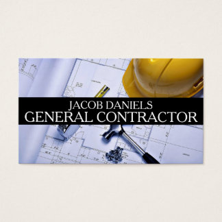 General Contractor Builder Construction Business Business Card