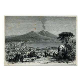 General View of Naples Poster