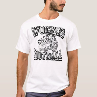 Generic Wolves Athletic Design T-Shirt