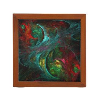 Genesis Nova Abstract Art Desk Organiser