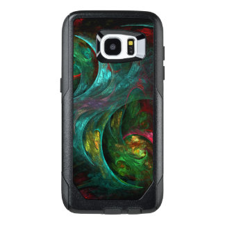 Genesis Nova Abstract Art OtterBox Samsung Galaxy S7 Edge Case