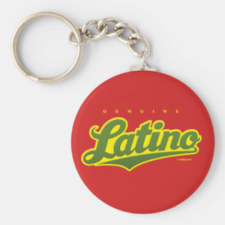 Genuine Latino - keychain (green/red)