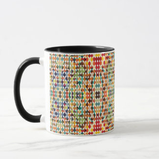 [GEO-ABS-1] Abstract oval pattern Mug