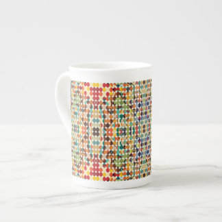 [GEO-ABS-1] Abstract oval pattern Tea Cup