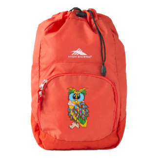 Geo Owl Pack Backpack