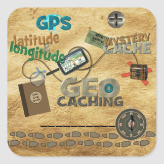 Geocache Fever - Customize Stickers