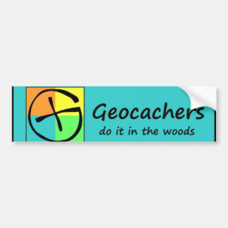 Geocachers Bumper Sticker